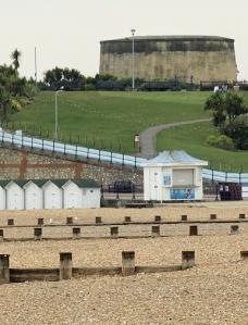 Martello Tower 73, Eastbourne, Ruth's coastal walk