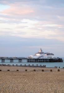 Sunset, Eastbourne Pier - Ruths coastal walk.