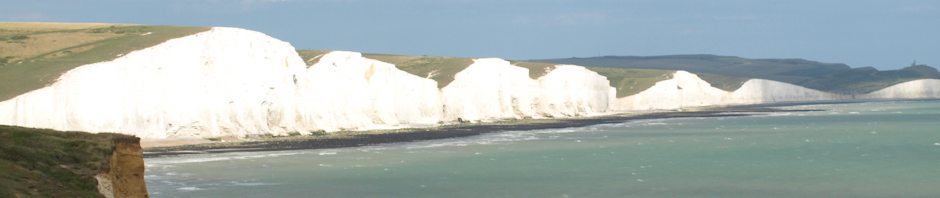 Header, Eastbourne to Seaford, Ruths coastal walk