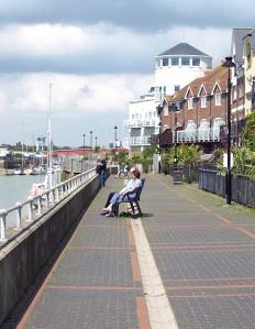 Riverside, Littlehampton, Ruth's coastal walk