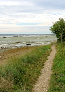 from Prinsted, towards Thorney Island, Ruths coastal walk, Chichester Harbour