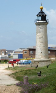 Shoreham Harbour Lighthouse - Sussex, Ruths coastal walk.