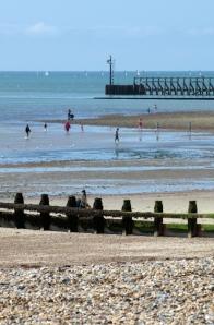 East Beach, Littlehampton, Sussex. Ruths coastal walk.