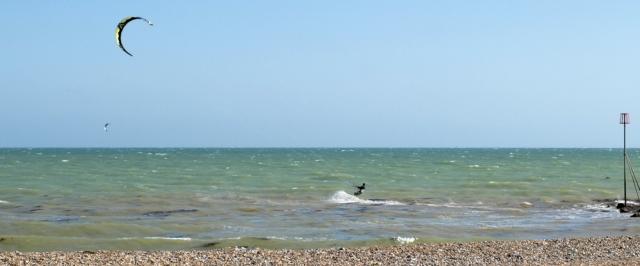 Kite Surfing - Worthing - Ruth's coastal walk