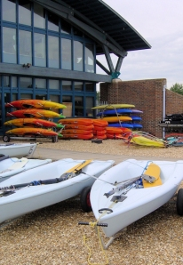 Portsea Island, water sports centre - Ruth coast walk.