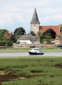 Bosham church, Ruth walks round the coast, East Sussex