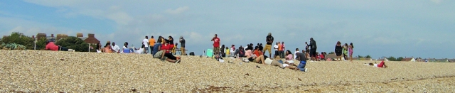 South Portsmouth beach - west indian group, Ruth's coast walk