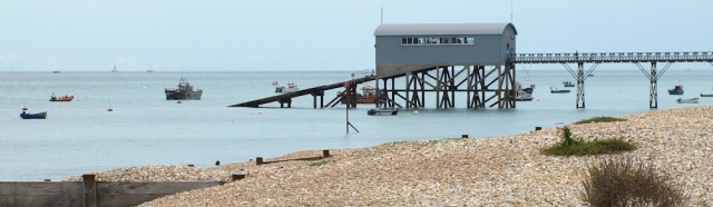 Selsey Bill lifeboat station - Ruth's coastal walk through Sussex.