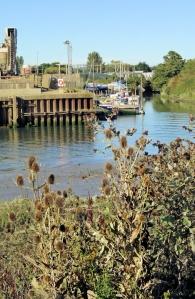 Tarmac works, Langstone, Ruth's coastal walk