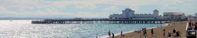 Portsmouth South Parade Pier, Ruth's coastal walk