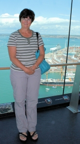 Ruth up Spinnaker Tower