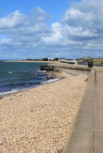 Promenade - Stokes Bay, Gosport, Ruth's coast walk.