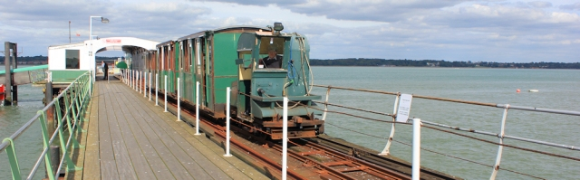 Hythe pier train, Hampshire, Ruth's coastal walk