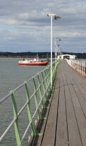 Hythe pier and ferry, Ruth walks around the coast, Hampshire