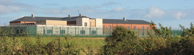 HM Prison, Gosport. Ruth's walk around the coast.