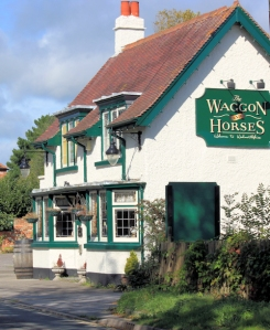 Wagon and Horses Pub, Lymington, Ruth coast walker