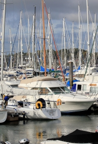 Lymington Marina - Ruth's coastal walk through Hampshire
