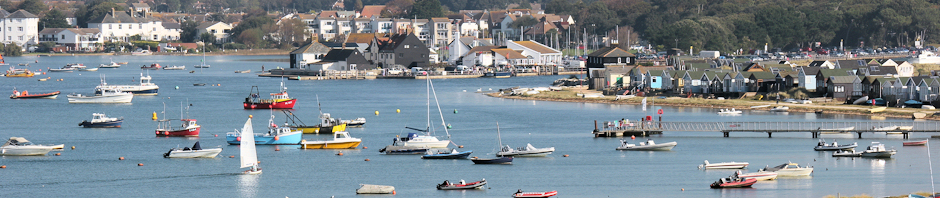 header - looking back to Christchurch Harbour, Ruths coastal walk
