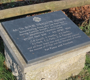 memorial stone, Studland, Purbeck, Ruth's coast walk