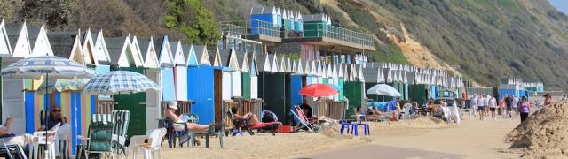 Bournemouth promenade, Ruth's coastal walk