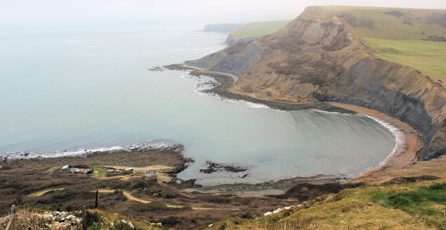 Chapman's Pool, near Worth Matravers, Isle of Purbeck, on Ruth's coastal walk