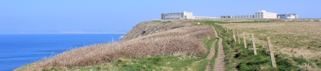 coastal path, from Portland Bill, Ruth walks around the coast