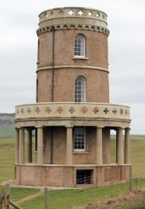 Tower, Kimmeridge. Ruth's coastal walk.