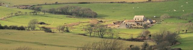 Tyneham- deserted village. Lulworth Ranges. Ruth walks the coast through Dorset.