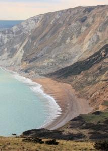 Worbarrow Bay, Dorset, Ruth's walk around the coastline