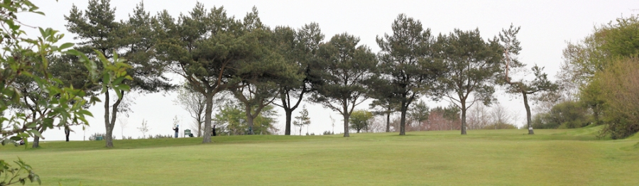 golf course - Lyme Regis - South West Coast Path - Ruth's coast walk.