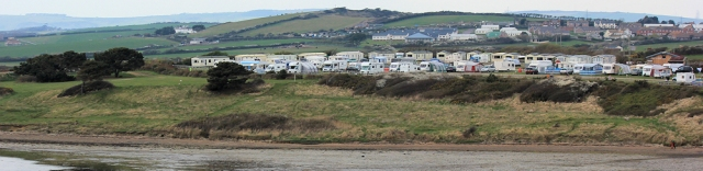 caravan park and camp site, Fleet, Ruth's coastal walk