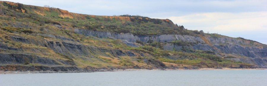 Black Ven landslip - Ruth's coastal walk through Lyme Regis