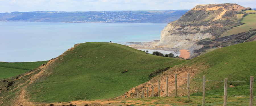 Down from Thorncombe Beacon, Sout West Coast Path, Dorset. Ruth.