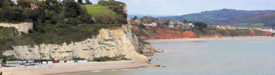 Beer and Seaton beyond - Ruth on South West Coast Path, Devon