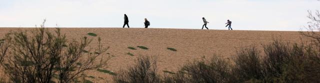 Chesil Beach, family walk, Ruth walks around the coast, Dorset