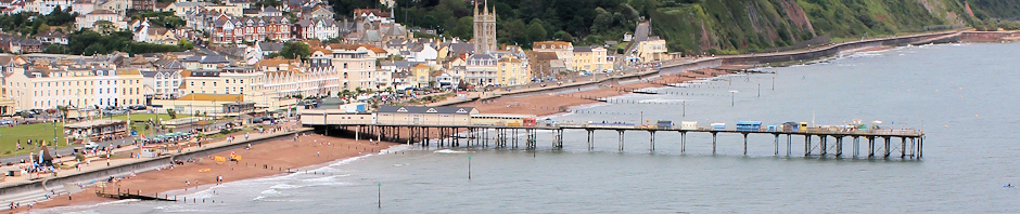 Teignmouth from The Ness, Sheldon, Ruth's coastal walk