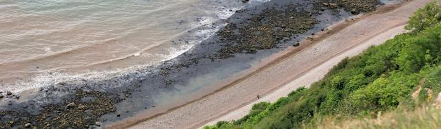 Weston Ebb beach - Devon, South West Coast Path, Ruth's walk.