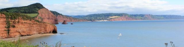 Back to Sidmouth, Ruth's coast walk through Devon