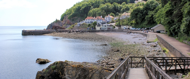 Babbacombe Beach, Devon, Ruth's coast walking