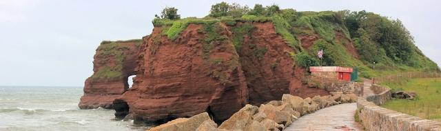 Red Rock, Ruths walk around the coast, Dawlish Warren- Langstone Rock