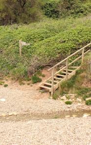 Weston Mouth - Ruth's coastal walk, South West Coast Path