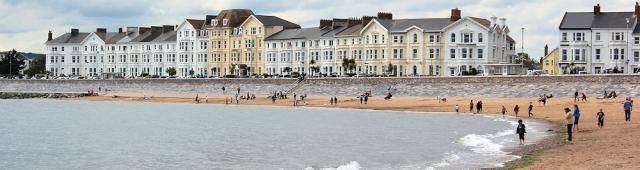 Exmouth, Ruths coastal walk, Devon