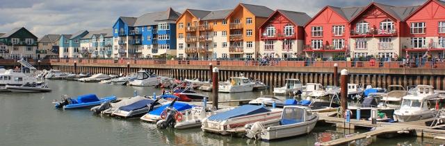 Exmouth, new harbour development, Ruth's coast walk
