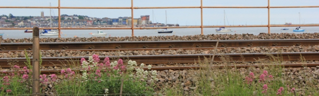 Exmouth through railway, Ruth coastal walk, Starcross