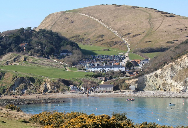 Lulworth Cove, Dorset - from Ruth Livingstone's coastal walk around the UK