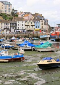 Brixham Marina, Ruth's coastal walk, around Tor Bay