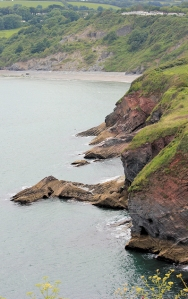 St Mary's Bay, Brixham, Devon, Ruth's coast walking