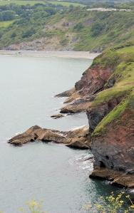 St Mary's Bay, Brixham, Devon, Ruth's coast walking