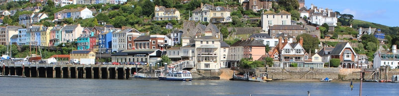 Kingswear, Devon. Ruth's coast walk around the UK