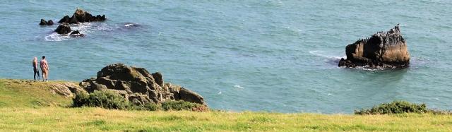 Dancing Beggars, South West Coast Path, Ruth in Devon